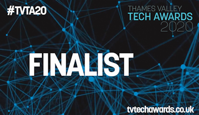 Thames Valley Tech Awards 2020 Finalist