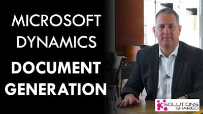 Document Generation in Microsoft Dynamics 365