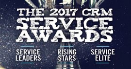 Microsoft Wins in 2017 CRM Magazine Service Leader Awards